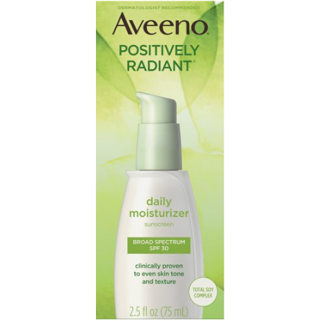 Aveeno Positively Radiant Facial Moisturizer SPF 30  India