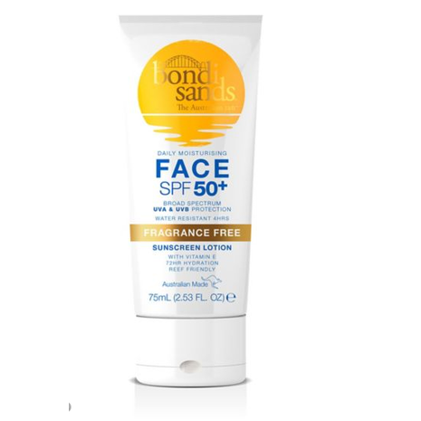 Lotion SPF 50+ for Face - Fragrance Free 75ml