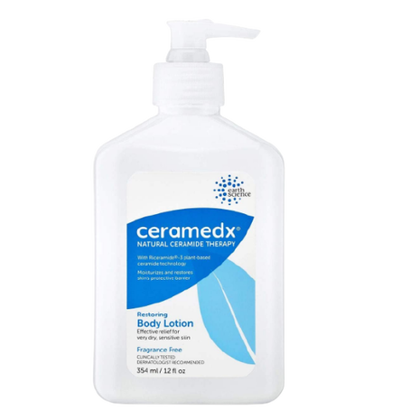 Ceramedx  Natural Restoring Body Lotion Unscented for Very Dry and Sensitive  12 fl.Oz
