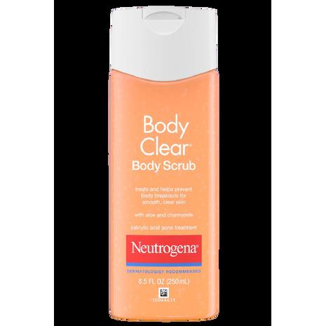 Neutrogena Body Clear   Oil Free Scrub with Salicylic Acid India