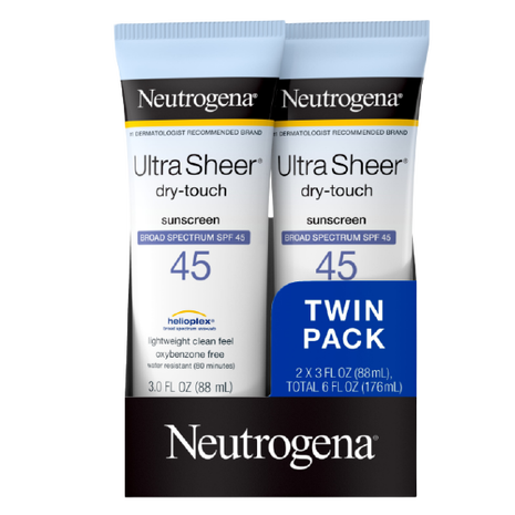 Neutrogena  Ultra Sheer Dry-Touch  SPF 45 India