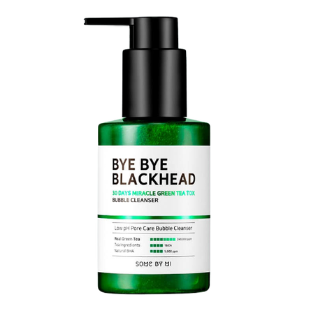 SOME BY MI Bye Bye Blackhead 30 Days Miracle Green Tea Tox Bubble Cleanser india