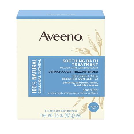 Aveeno Soothing Bath Treatment 1.5 Oz