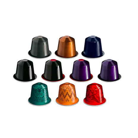 Nespresso Original Capsules/Pods - Original Classic 100 Assortment