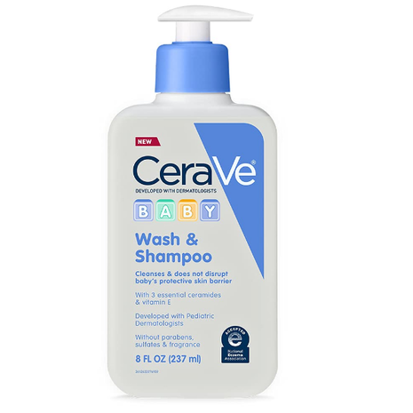 CeraVe Baby Wash & Shampoo 8 Oz