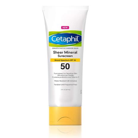 Cetaphil Sheer Mineral Sunscreen 3 Fl.oz