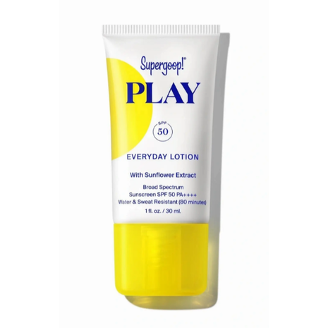 Supergoop PLAY Everyday Lotion SPF 50 with Sunflower Extract - 1 oz