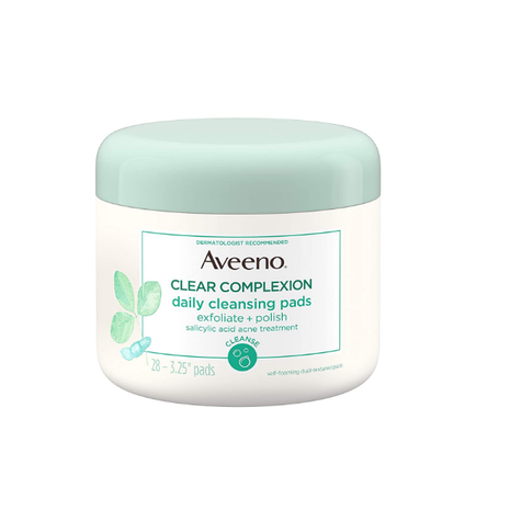 Aveeno   Clear Complexion Daily Facial Cleansing Pads  - 28 Pads
